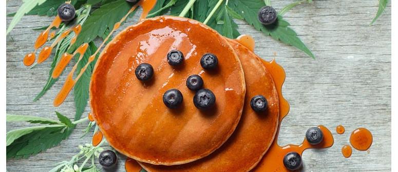 Wie man Gras Pfannkuchen macht