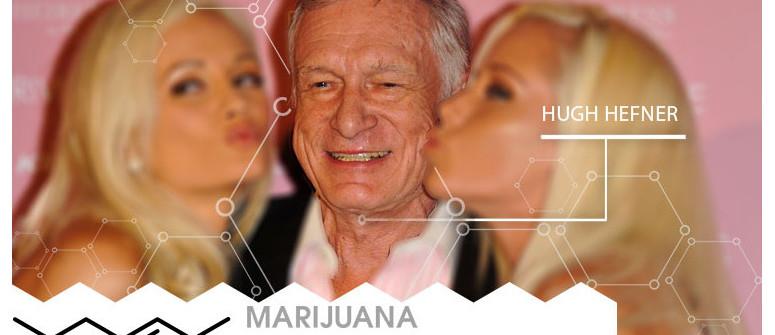 Marihuana-VIP: Hugh Hefner