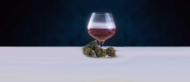Wie man mit Cannabis angereicherten Wein herstellt
