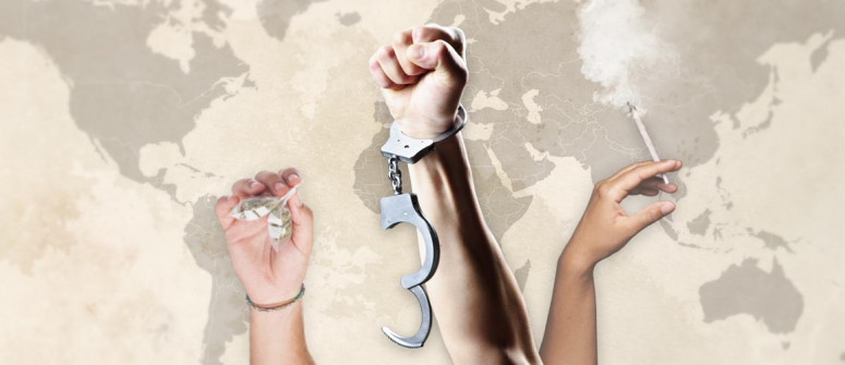 Legalisieren - Weltkarte