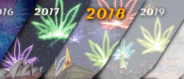 Frohes Neues Jahr wünscht CannaConnection!