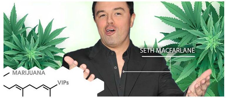 Marihuana-VIP: Seth MacFarlane