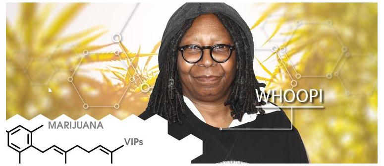 Marihuana-VIP: Whoopi Goldberg