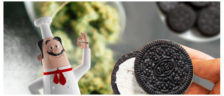Wie man Oreo-Kekse mit Gras herstellt