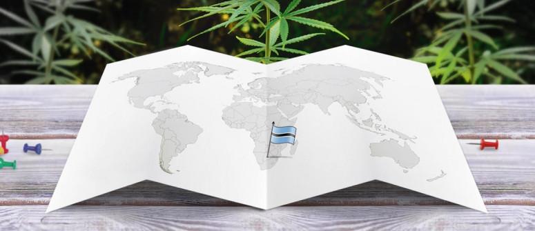 Der Rechtliche Status von Cannabis in Botswana