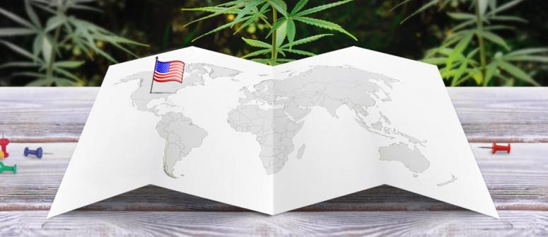 Der rechtliche Status von Marihuana in den Vereinigten Staaten