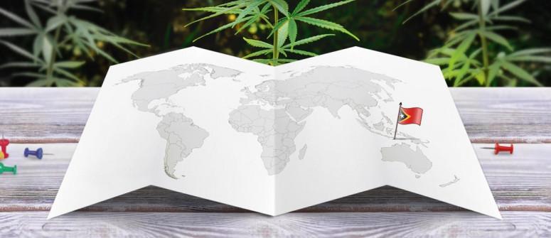 Der Rechtliche Status von Cannabis in Demokratische Republik Timor-Leste