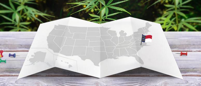 Der rechtliche Status von Cannabis im US-Bundesstaat North Carolina