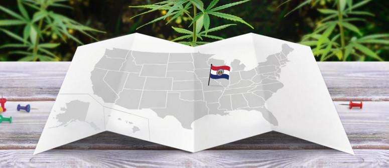 Rechtliche status von Cannabis in dem Bundesstaat Missouri