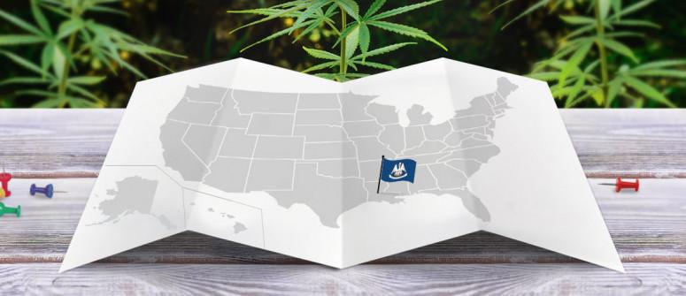 Der rechtliche Status von Cannabis in dem Bundesstaat Louisiana