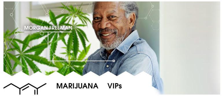 Marihuana VIP: Morgan Freeman