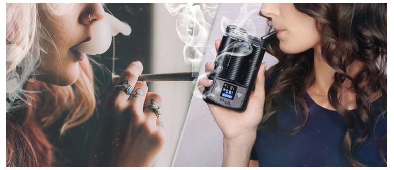 Was das Verdampfen von Marihuana dem Rauchen voraus hat