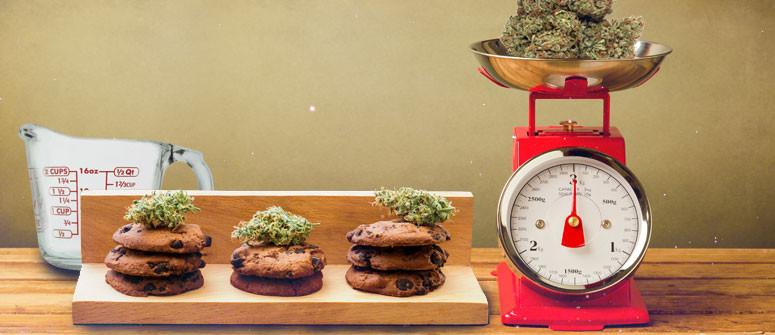 Wie Man die Dosierung von Cannabis für den Verzehr berechnet