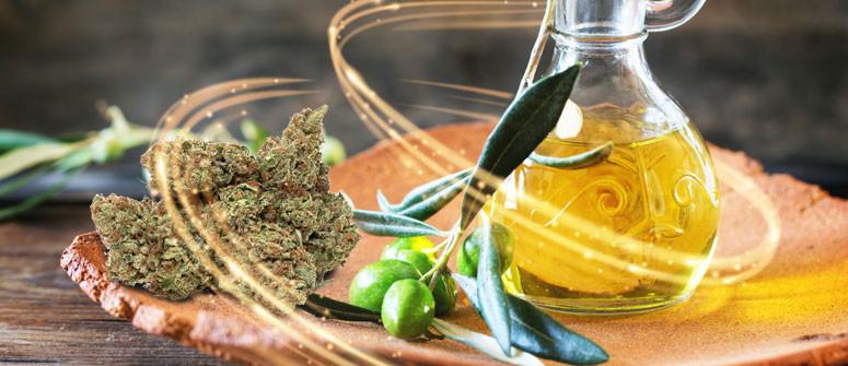 Wie Du mit Cannabis angereichertes Olivenöl herstellst