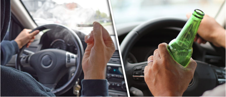Fahren unter Drogeneinfluss: Alkohol im Vergleich zu Cannabis