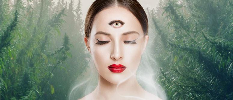 Kann Dir Cannabis dabei helfen, Dein Drittes Auge zu öffnen?