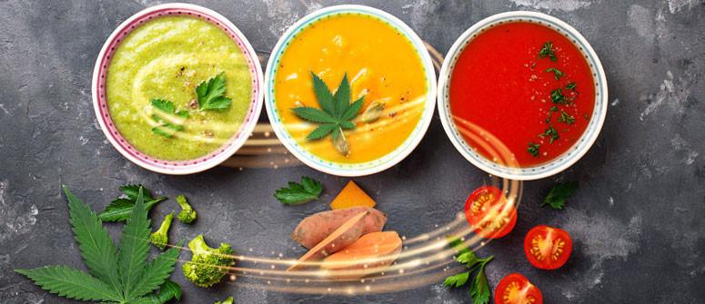3 Cannabissuppen-Rezepte, um Dich im Winter aufzuwärmen