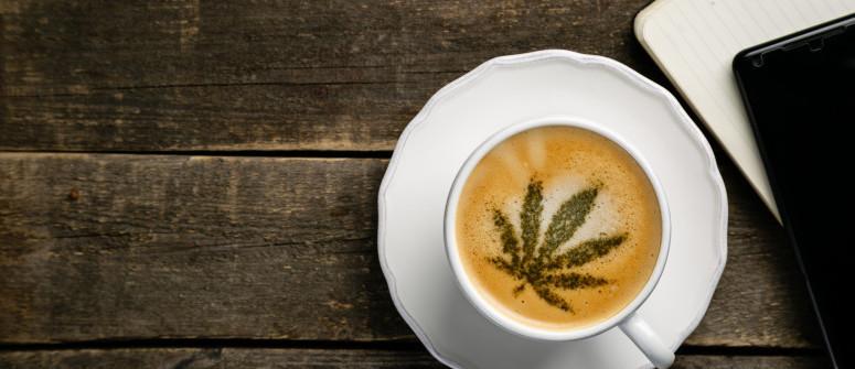 Was passiert, wenn man CBD und Koffein mischt?